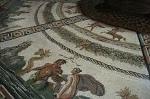 Mozaïek uit Otricoli, Vaticaanse Musea, Rome; Mosaic from Otricoli, Rome, Italy