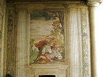 Juno verandert een nimf in een berin (Villa Emo).; Villa Emo, Veneto, Italy
