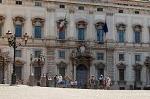 Palazzo della Consulta (1735), Rome Italië.; Palazzo della Consulta (1735), Rome, Italy.