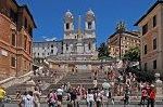 Spaanse trappen (Rome, Italië); Spanish steps (Italy, Latium, Rome)
