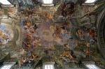Kerk van Sint-Ignatius. Rome, Italië.; Church of Saint Ignatius, Rome, Italy