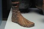 Terracotta voet, Paestum (Campanië. Italië); Foot, Paestum (Campania, Italy)