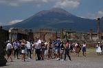 Forum, Pompeii, Campanië, Italië; Forum, Pompeii, Campania, Italy