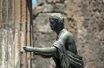 Tempel van Apollo, Pompeii, Campanië, Italië; Temple of Apollo, Pompeii, Campania, Italy