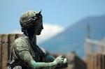 Bronzen beeld van Diana, Pompeii; Bronze statue of Diana, Pompeii
