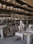 Antiquarium, Pompeii, Campanië, Italië; Antiquarium, Pompeii, Campania, Italy