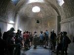 Thermen van het Forum (Pompeii, Campanië, Italië); Forum baths (Pompeii, Campania, Italy)