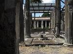 Romeins huis, Pompeii, Campanië, Italië; Roman house, Pompeii, Campania, Italy