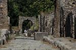 Via di Nola, Pompeii, Campanië, Italië; Via di Nola, Pompeii, Campania, Italy