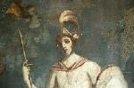 Huis van Venus, Pompeii, Campanië, Italië; House of Venus, Pompeii, Campania, Italy