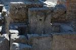Openbare fontein, Pompeii, Campanië, Italië; Water fountain, Pompeii, Campania, Italy