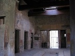 Huis van Menander, Pompeii, Campanië, Italië; House of the Menander, Pompeii