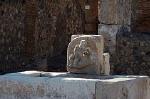 Kraantje, Pompeii, Campanië, Italië; Tap, Pompeii, Campania, Italy