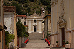 Kerken in Marostica (VI, Veneto, Italië); Churches in Marostica (VI, Veneto, Italy)