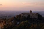 Badia Camaldolese, Volterra (PI, Toscane, Italië); Badlands near Volterra (PI, Tuscany, Italy)