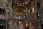 Iconostasis.Basilica di San Marco, Venetië, Italië; Basilica di San Marco, Venice, Italy