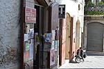 Tijdschriftenwinkeltje in Bovino (Apulië, Italië); Cartolibreria Edicola in Bovino (Puglia, Italy)
