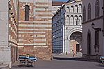 Lucca, Toscane, Italië; Lucca, Tuscany, Italy