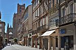 Rue Mariès, Albi (Tarn, Occitanie, Frankrijk); Albi (Tarn, Occitanie, France)