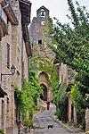 Porte Méjane, Bruniquel (Occitanie, Frankrijk); Bruniquel (Tarn-et-Garonne, Occitanie, France)