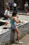 Thermopolium in Pompeii (Campanië, Italië); Thermopolium in Pompeii (Campania, Italy)