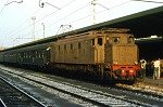 Electrische locomotief E626 (Bari, Italië); Electric locomotive E626 (Bari, Italy)