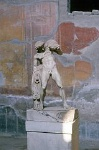 Drunk satyr, Herculaneum (Campanië, Italië); Dronken satyr, Herculaneum (Campania, Italy)