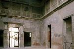 Samnitische huis in Herculaneum (Campanië, Italië); Samnite house in Herculaneum (Campania, Italy)