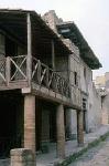 Huis in Herculaneum (Campanië, Italië); House in Herculaneum (Campania, Italy)
